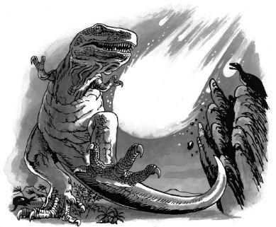 Ảnh đen trắng: Con khủng long