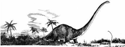 Ảnh đen trắng: Con khủng long khổng lồ